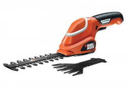 Black & Decker GSL700 Shear Shrubber Kit 7 Volt 1 x 1.2Ah Li-ion