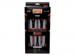 Bahco ERGO Insulated Screwdriver SLIM Set, 5 Piece SL/PH