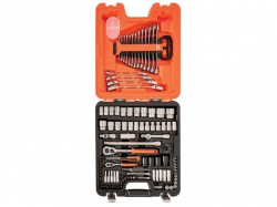 Bahco S106 Socket and Spanner Set 106-Piece 1/4 & 1/2in Drive