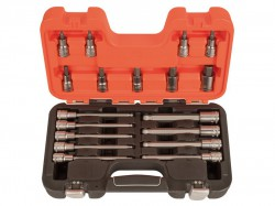 Bahco S18HEX 1/2in Drive Socket Set of 18 Metric