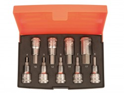 Bahco S9HEX 1/2in Drive Socket Set of 9 Metric