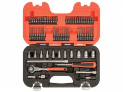 Bahco SW65 Swivel Socket Set of 65 Metric 1/4in Drive