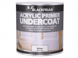 Blackfriar Quick Drying Acrylic Primer Undercoat White 250ml