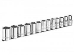 Britool Expert Socket Set of 13 A/F 3/8in Drive