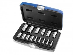 Britool Expert Deep Socket Set of 15 Metric 3/8in Drive