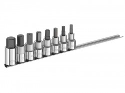 Britool Hex Bit Socket Set of 8 1/2in Drive