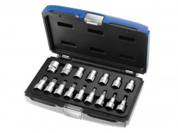 Britool Expert Socket Set of 16 Torx 1/2in Drive