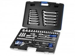 Britool Expert Socket & Spanner Set of 101 Metric 1/4 & 1/2in Drive