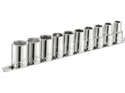 Britool Expert Socket Set of 10 Metric 1/2in Drive