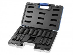Britool Deep Impact Socket Set 14 Piece 1/2in Drive 10-32mm