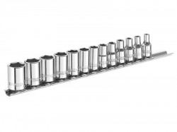 Britool Expert Socket Set of 13 Metric 1/4in Drive