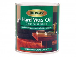 Briwax Hard Wax Oil Clear Satin 2.5 Litre
