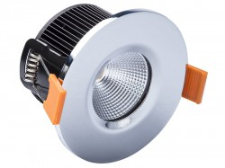 Byron LED Fire Rated Downlight 4.7W Chrome 240V
