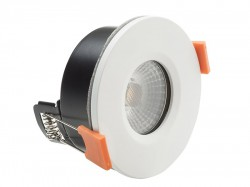 Byron LED Fire Rated Anti-Glare Downlight 3.8W White 240V
