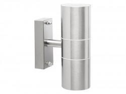 Byron Stainless Steel Up/Down Outdoor Light