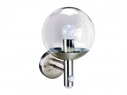 Byron RVS46LA Stainless Steel Security Light with PIR