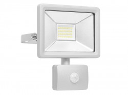 Byron Ultra Slim Integrated LED Floodlight With Sensor 20 Watt 1600 Lumen