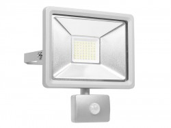 Byron Ultra Slim Integrated LED Floodlight With Sensor 30 Watt 2500 Lumen