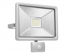 Byron Ultra Slim Integrated LED Floodlight With Sensor 50 Watt 4150 Lumen