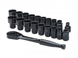 Crescent® X6 Pass-Thru® Ratchet & Socket Set 20 Piece
