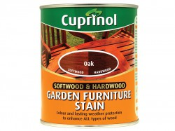 Cuprinol Softwood & Hardwood Garden Furniture Stain Oak 750ml