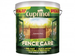 Cuprinol Less Mess Fence Care Autumn Red 6 Litre