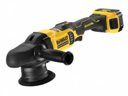 DEWALT DCM848P2 XR Brushless Polisher 125mm 18V 2 x 5.0Ah Li-ion