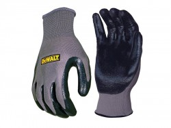 DEWALT DPG66L Nitrile Nylon Gloves - Large