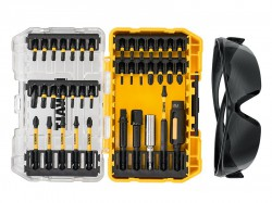 DEWALT DT70733T FLEXTORQ Screwdriving Set, 38 Piece + Safety Glasses