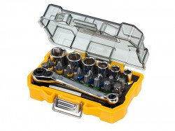 DEWALT DT71516 Socket & Screwdriving Set, 24 Piece