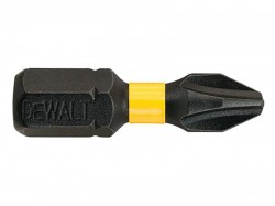 DEWALT Impact Torsion Bits PH2 25mm Pack of 5
