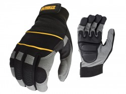 DeWalt Dpg33l Powertool Gel Gloves Blk/grey