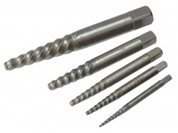 Dormer M101 Carbon Steel Screw Extractor Set A