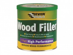 Everbuild 2-Part High-Performance Wood Filler Medium Stainable 1.4kg