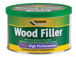 Everbuild Wood Filler High Performance 2 Part Light Stainable 1.4kg
