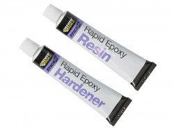 Everbuild Stick 2 Rapid Epoxy 2 x 12ml Tubes