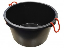 Faithfull Builders Bucket Black 65 Litre (14 Gall)