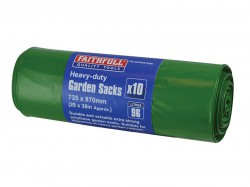Faithfull Heavy-Duty Strong Garden Sacks (Roll 10)