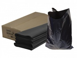Faithfull Heavy-Duty Black Refuse Sacks (Pack 100)