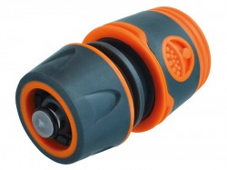 Faithfull Plastic Water Stop Hose Connector 1/2in