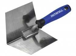 Faithfull Prestige Internal Corner Trowel 5 x 4in