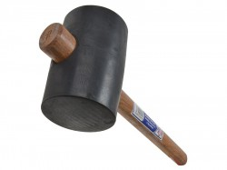 Faithfull Rubber Mallet - Black 3.1/2in