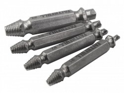 Faithfull Screw Extractor Kit 4 Piece