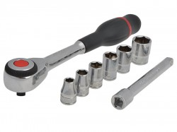 Facom J.360 Rotator Ratchet Set of 7 Metric 3/8in Drive