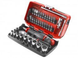 Facom RL.Nano1PB Nano Socket Set Metric 1/4in Drive