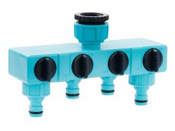 Flopro Flopro Four Way Tap Connector 12.5mm (1/2in)