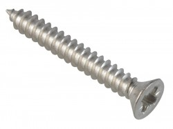 ForgeFix Self-Tapping Screw Pozi Compatible Pan A2 SS 1.1/4in x 8 ForgePack 20