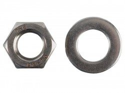 Forgefix Hexagonal Nuts & Washers A2 Stainless Steel M12 Forge Pack 6