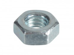 Forgefix Hexagonal Nuts & Washers ZP M4 Forge Pack 50