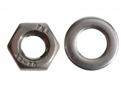 Forgefix Hexagonal Nuts & Washers A2 Stainless Steel M6 Forge Pack 20